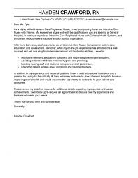 Resume Cover Letter Examples Nursing Resume Templates