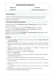11 12 Sample Resume For Qa Testing 2l2code Com