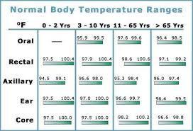 Baby Rectal Temperature Chart Normal Temperature For A Baby What Doctors Want You To Know