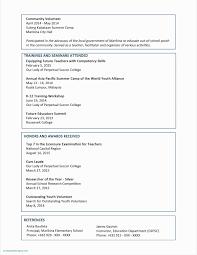 High School Resume Template Microsoft Word Beautiful Free Resume