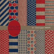 items similar to burlap texture outdoor rugs red navy blue tan burlap texture stripes circles polka dots rug summer spring geometric