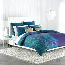 teal and purple ruffle bedding set crib blanket gold twin c