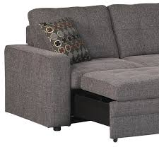 gus small sectional sofa in charcoal small sectional couch7 small