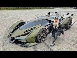 Lamborghini Brings Out Crazy V12 Vision Gran Turismo For Supercar Blondie Autoevolution Super Cars Lamborghini Super Car Bugatti