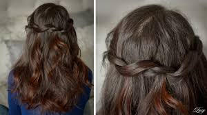Luxy Hair Style twisted waterfall hairstyle youtube 4410 by wearticles.com