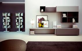 Wall Units Furniture Living Room Furniture Floating Modern Storage Wall Unit On Grey Wall Modern