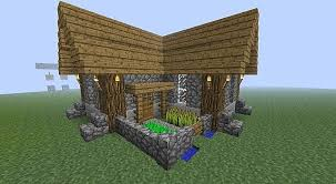 Small Picture Minecraft simple compact survival house Minecraft Pinterest