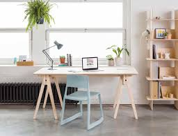 furniture cool office desk. A High-Quality, Flat-Pack Desk That Comes Together Tool-Free Furniture Cool Office
