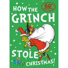 how the grinch stole christmas book cover. Fine Christmas How The Grinch Stole Christmas By Dr Seuss  Fiction At The Works For Book Cover R