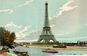 Vintage Postcards Templates Postcard Of Paris The Copycat Collector Collection 186