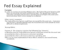 "ogt review mr patty ""crunch time"" ppt  fed essay explained"
