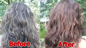 How To Change Gray Hair Back To Natural Color