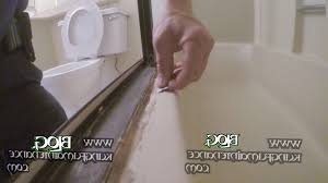 home interior hurry caulking shower door how to remove really bad tub enclosure repair from