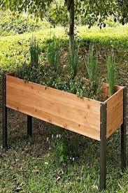 outdoor raised garden beds diy raised