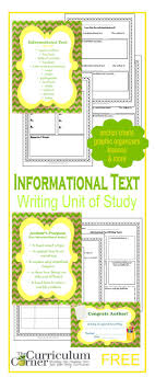 informational text writing unit of study the curriculum corner  informational text writing unit of study from the curriculum corner