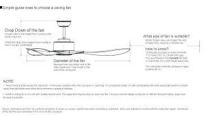 ceiling fan size guide choosing a ceiling fan blade size guide lines to for what bedroom ceiling fan size