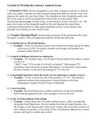 ytical essay the beginner s guide