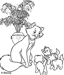 The Aristocats For Kids The Aristocats Kids Coloring Pages