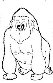 Animali Da Stampare Gorilla Blogmammait
