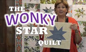 How to Make a Wonky Star Quilt - YouTube &  Adamdwight.com