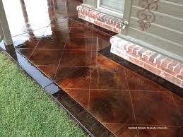 concrete flooring staining concrete