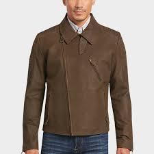 men s casual jackets outerwear men s wearhouse mens casual jackets outerwear joseph abboud brown leather moto jacket men s wearhouse