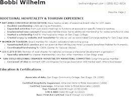 Hotel Front Desk Resume Examples Hotel Front Desk Resume Sample