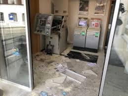 Unmittelbar darauf habe es unter der. Lauter Knall Grossfahndung Nach Geldautomatensprengung In Franken Region Nordbayern De