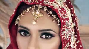 black smokey eye indian bridal makeup tutorial for asian stani arabic weddings reception video dailymotion
