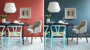 Small Picture Interior Design One Dining Room Two Different Wall Colors YouTube