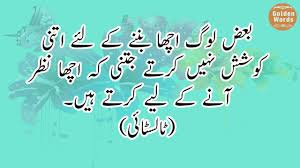 Some Random Quotes About Wisdom In Urdu