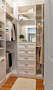 pull outs valet rods hooks shelves and even a vanity area could