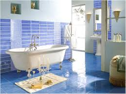 Refreshing Blue Ceramic Tile For Bathroom Search Gallery In Internet