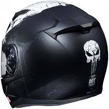 Hjc Cl 17 Marvel Punisher Ii Mens Motorcycle Helmets