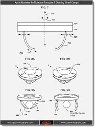 5 apple illustrates the rotatable faceplate steering wheel cl s