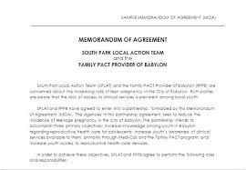 Memorandum Of Understanding Template Simple Memorandum Of Understanding Template Agreement Sample For Mou Free