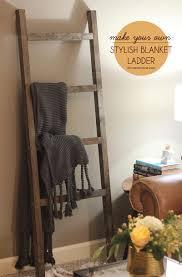 Diy Blanket Ladder The Diy Blanket Ladder Even A Tool Newbie Can Make Morecom