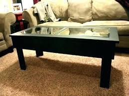 display coffee table glass top ikea