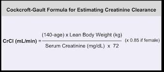 serum creatinine by prediction equations