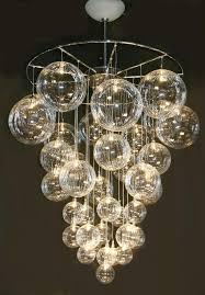 innovative glass ball chandelier modern best 25 modern chandelier lighting ideas on modern