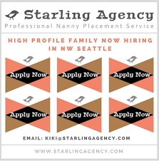 applying for nanny jobs nanny jobs seattle the best nanny jobs in seattle starling