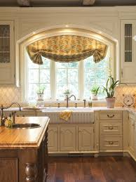 awesome window treatment ideas for kitchen over sink window treatment home design ideas pictures remodel
