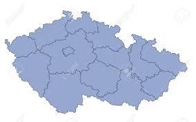 Výsledek obrázku pro map czech republic