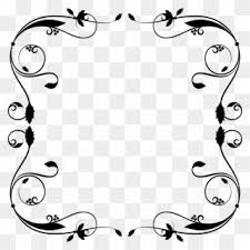 Free for commercial use no attribution required high quality images. Free Download Simple Flourish Frame Svg Clipart Borders Desain Frame Png Download 1923265 Pinclipart