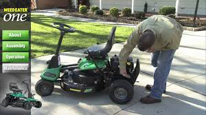 weed eater one maintenance youtube Weed Eater One WE261 Parts at Weed Eater Vip Riding Mower Wiring Diagram