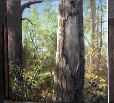paint with kevin hill close up tree