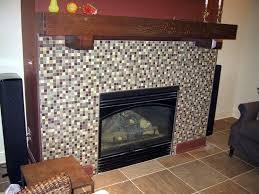 custom made arts and crafts fireplace mantel