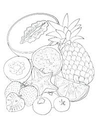Fruit And Vegetable Coloring Pages Download Here Print Here Fruits