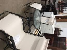 three piece antigravity patio set 180