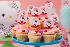 How To Create Cupcake Toppers For A Hello Kitty Party Get